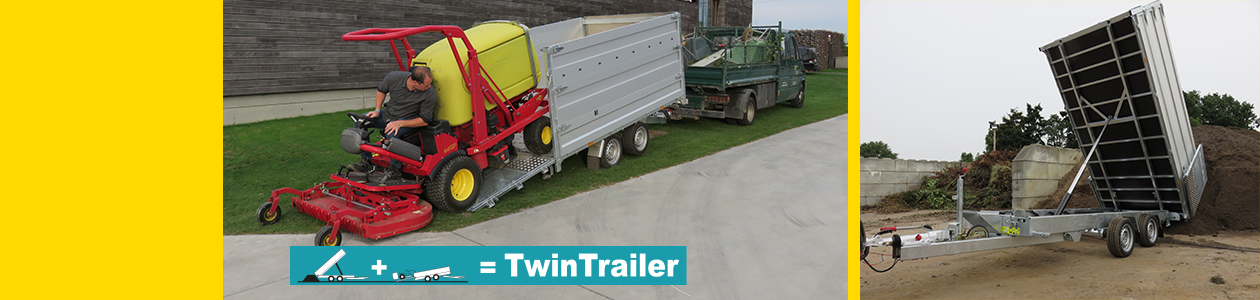 Twintrailer in streamer #6